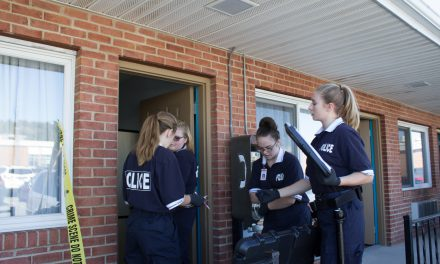 JRTI Criminal Justice Students Conduct Mock Shooting