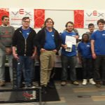 Congratulations to the Vex Robotics Teams!