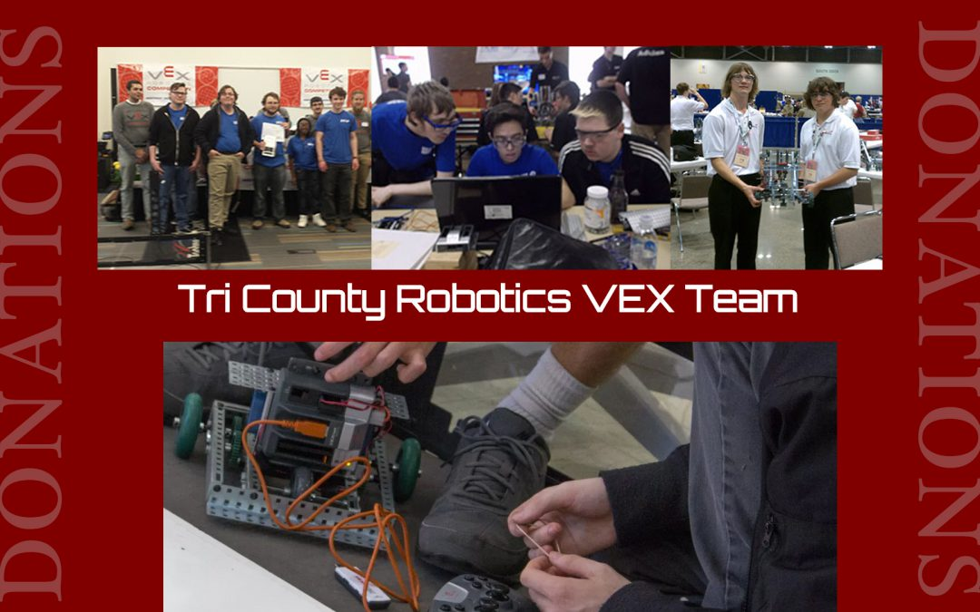 Tri-County Robotics Donations