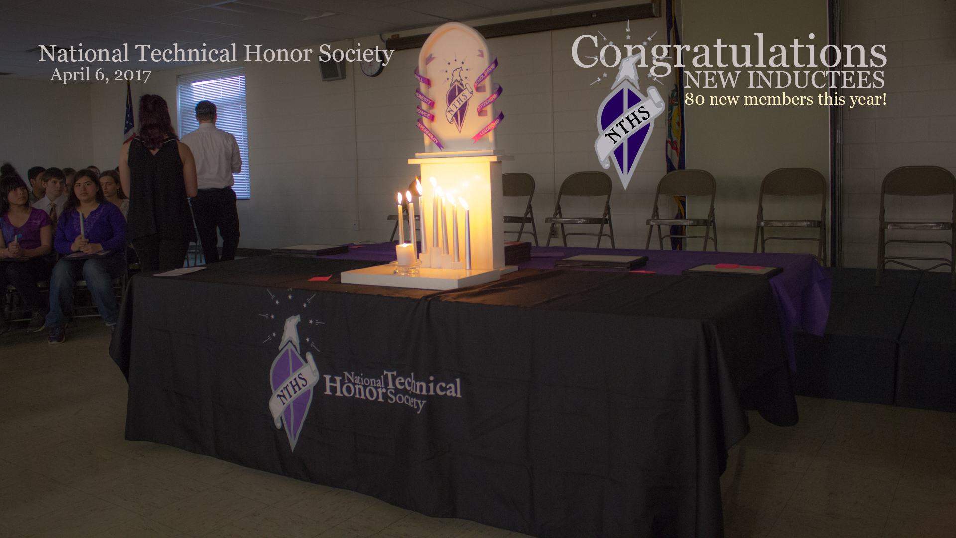 NTHS Induction Cremony