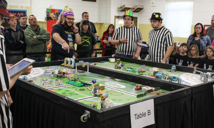 Toy Blocks Meet Science at First Lego League Tournament