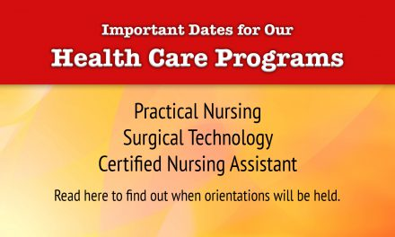 Orientation Dates for Health Care Programs