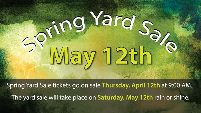 Yard Sale Tickets On Sale