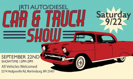 Join us for the JRTI Car & Truck Show on 9/22