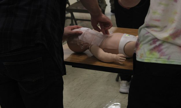 CPR training course