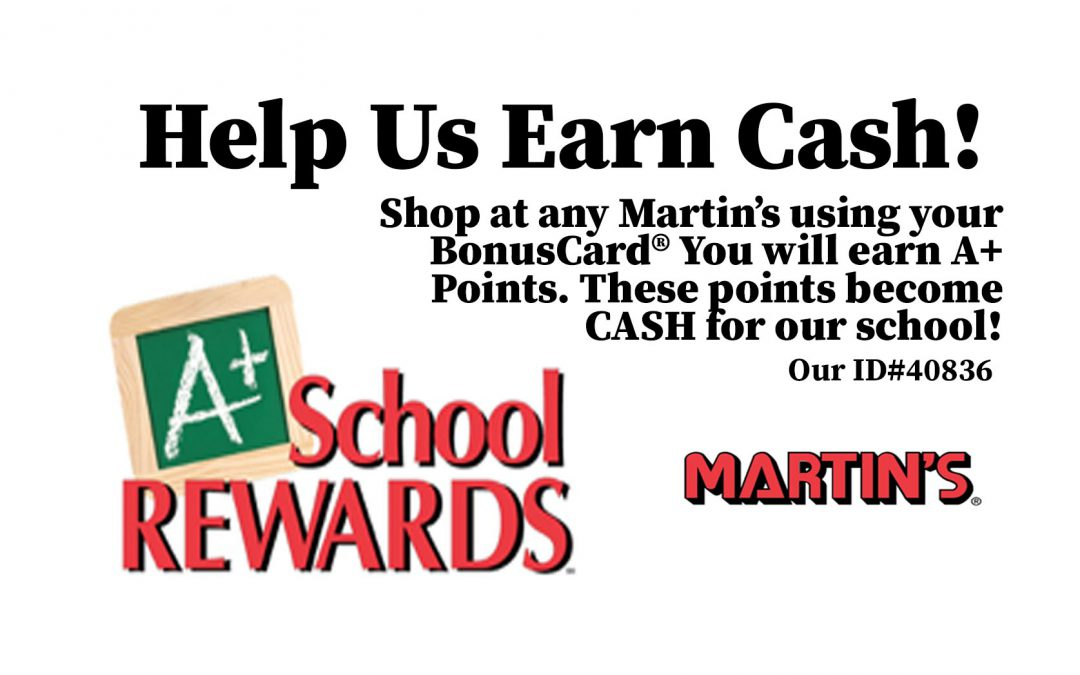 Raise Money for Our School with A+ Points