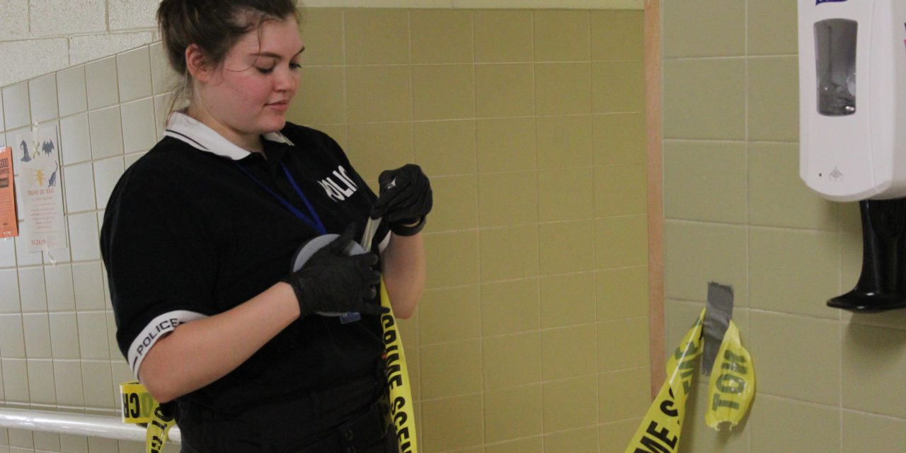 Crime Scene Simulation at JRTI