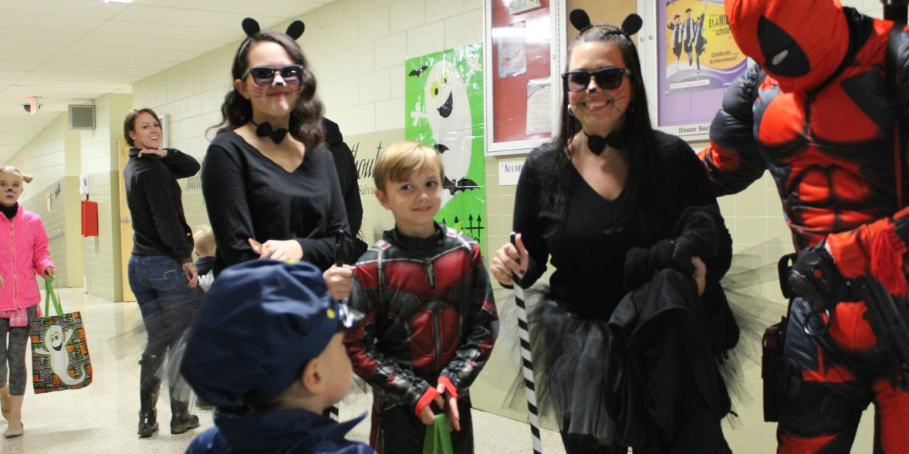 Monsters Invade James Rumsey Technical Institute