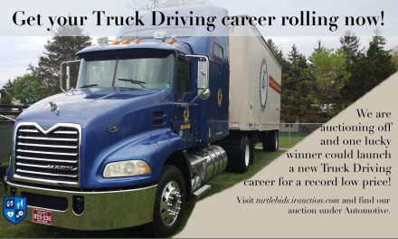 Truck Driving Tuition Auction