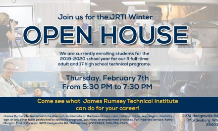 Winter Open House Feb 7th from 5:30 to 7:30 PM