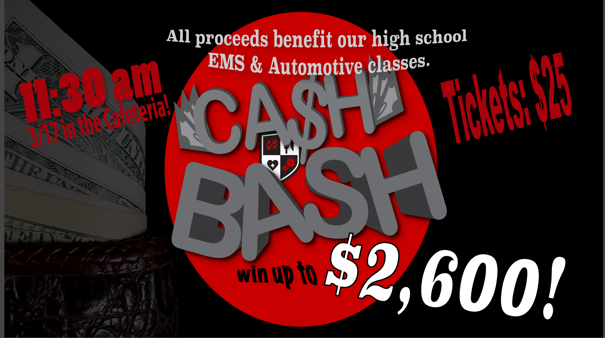 Cash In On Our 2nd Annual Cash Bash!