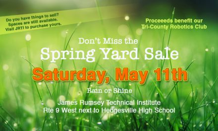 Don't Miss the Spring Yard Sale Saturday, May 11th