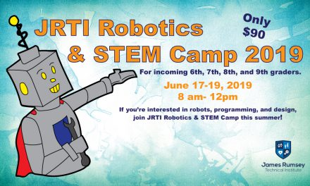 Sign up for JRTI Robotics & STEM Camp