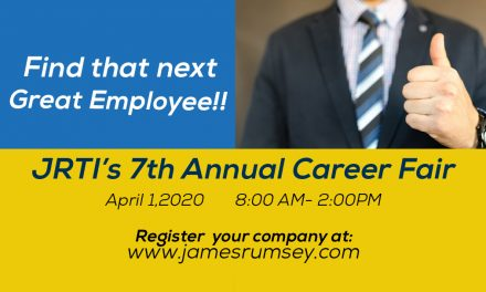 Register Your Company for the 7th Annual JRTI Career Fair