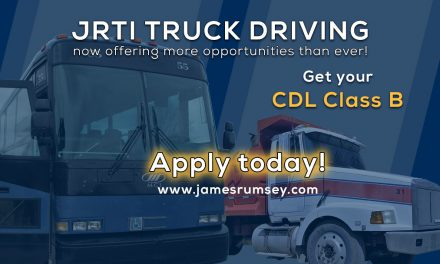 CDL Class B Now Available at JRTI