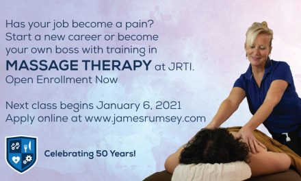Enroll Today for Massage Therapy