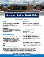 Re-entry plan highlights