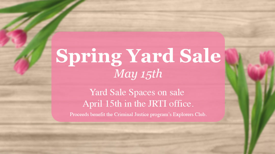 Spring Yard Sale Spaces on Sale April 15th