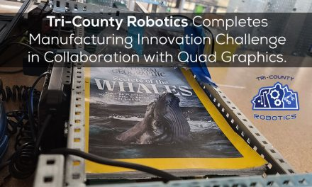 Robotics Completes Manufacturing Innovation Challenge in Collaboration with Quad Graphics